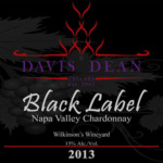"2013 ""Black Label"" Chardonnay - Napa Valley"